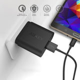 AUKEY PA-U28 Wall Charger with Quick Charge 2.0