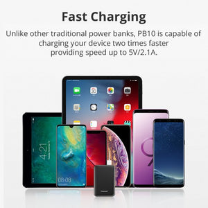 Tronsmart 10000mAh Mini Compact Power Bank PB10