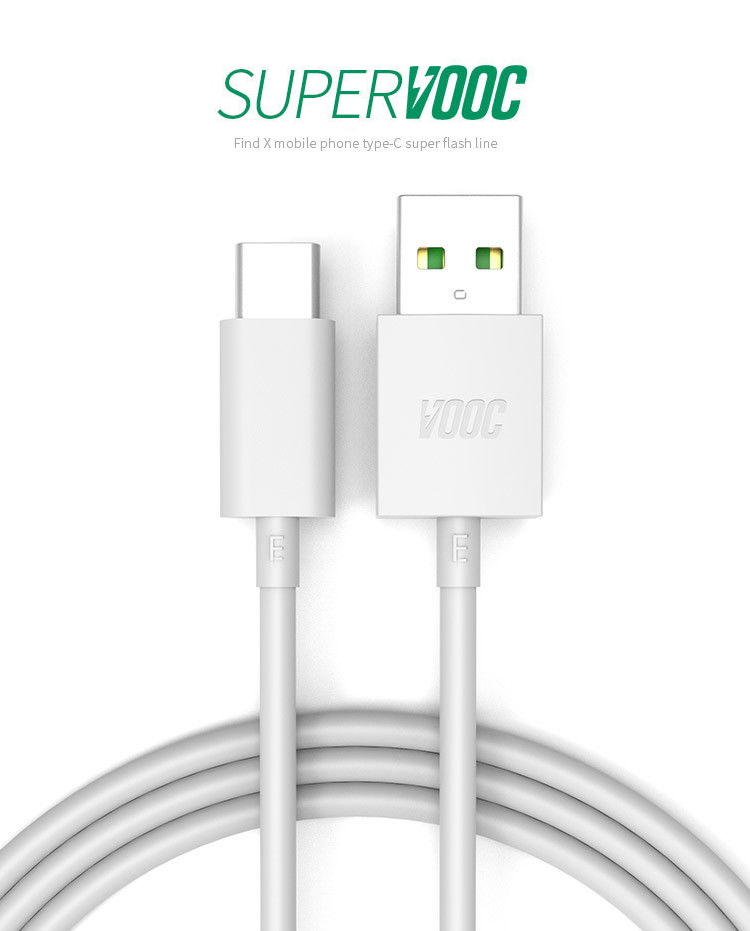Technoamp 4A USB Type C VOOC/DASH Flash Charge Cable 3.3ft CAVOTC