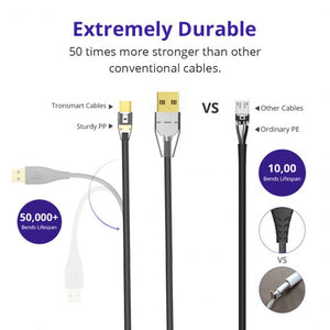 Tronsmart MUC04 3ft Premium Braided Micro USB Cable