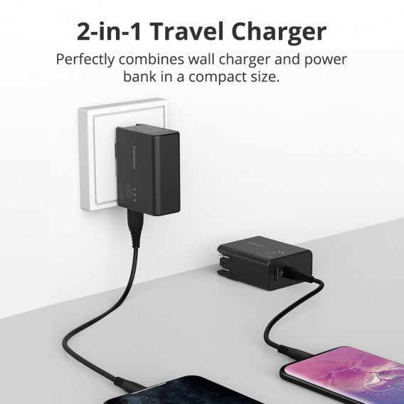 Tronsmart WPB01 5000mAh 2 in 1 Portable Travel Charger / Power Bank Portable Charger 5V2.4A