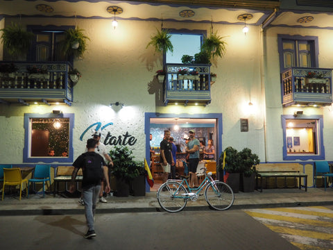 Specialty Coffee Shop Ktarte in Circasia, Quindio Colombia