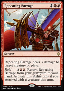 Repeating Barrage