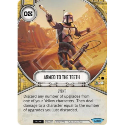 Star Wars Destiny Single - Armed To The Teeth
