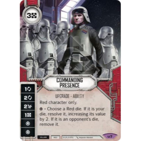 Star Wars Destiny Single - Commanding Presence
