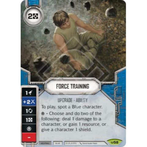 Star Wars Destiny Single - Force Training