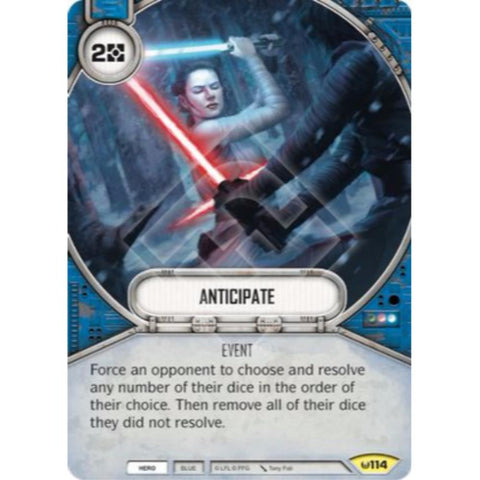 Star Wars Destiny Single - Anticipate