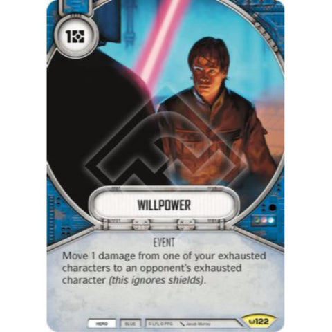 Star Wars Destiny Single - Willpower