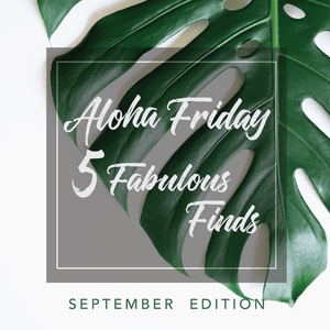 5 Fab Finds (September)