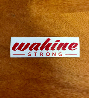 Wahine Strong Stickers Small
