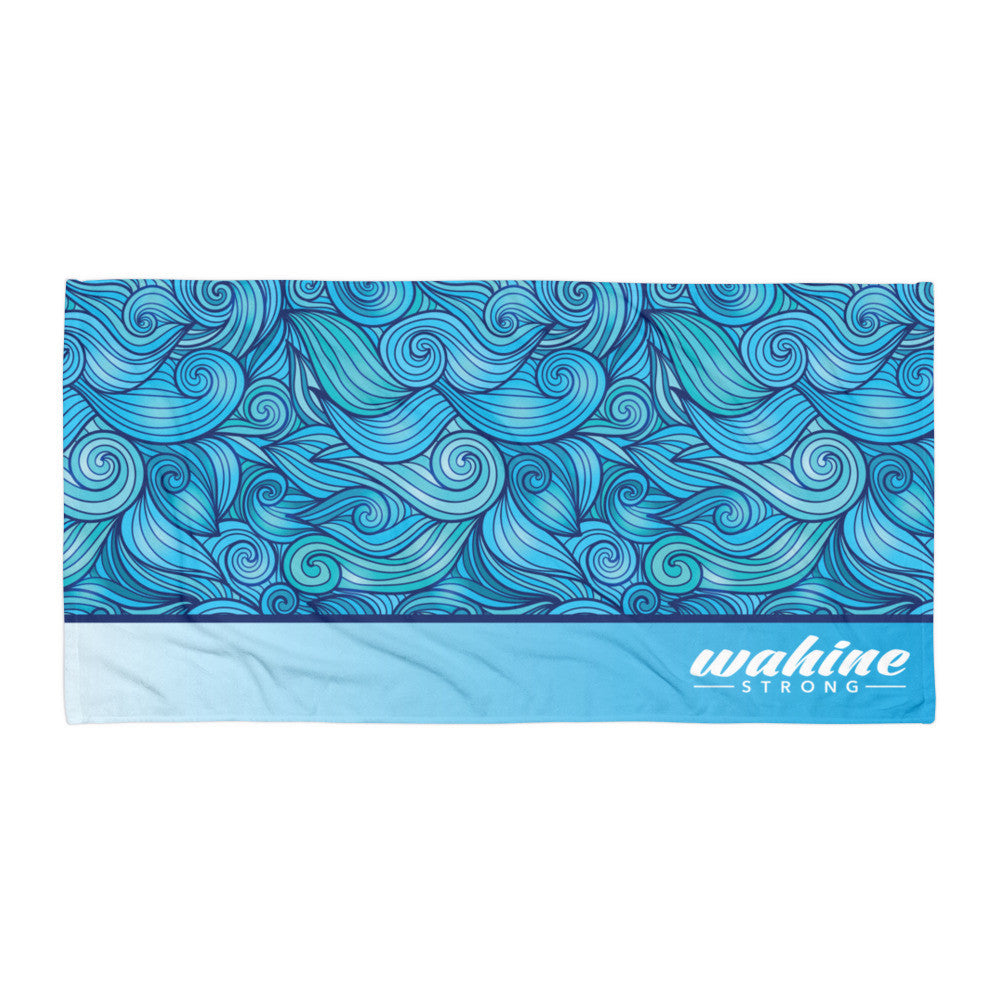 Wahine Strong Towel Beach Vibe