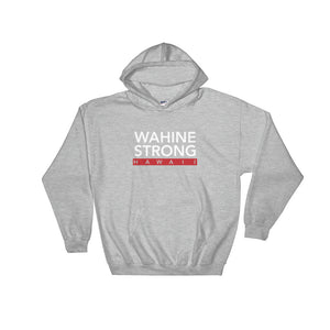 Red Stripe Hooded Sweatshirt