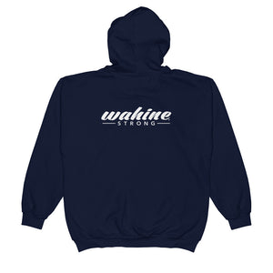 Wahine Strong Colors  Zip Hoodie