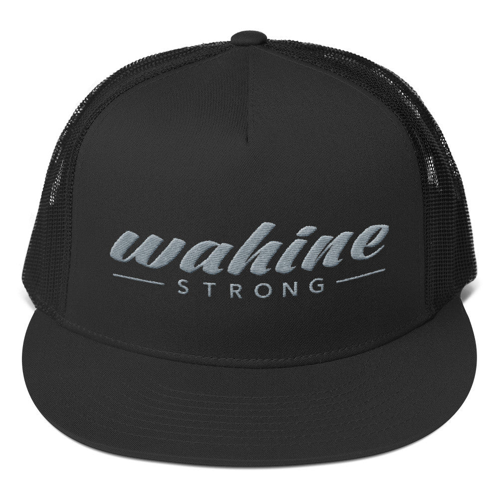 Wahine Strong Trucker - Grey