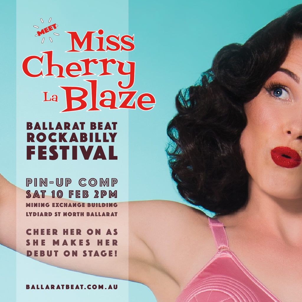 Ballarat Beat Rockabilly Festival Pinup Competition!