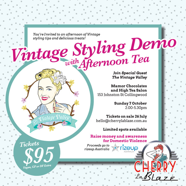 Vintage Styling Demo and Afternoon Tea