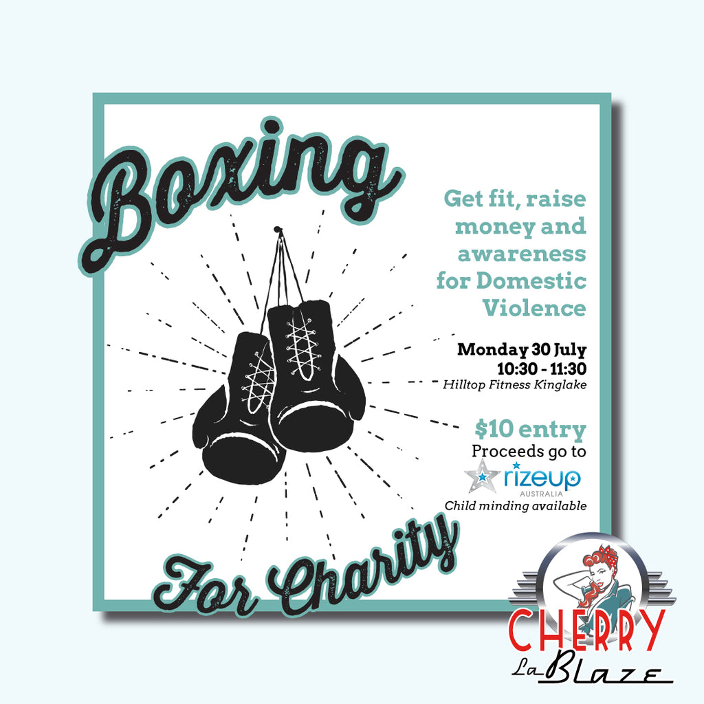 Boxing For Charity!