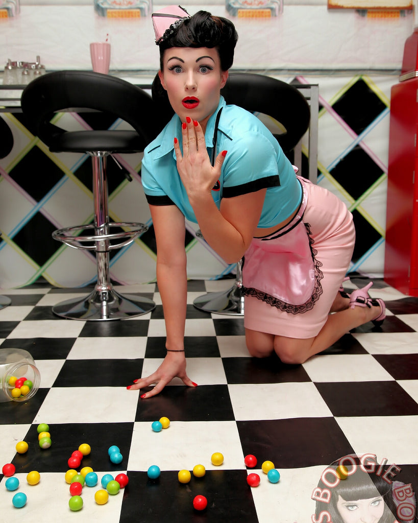 Miss Cherry La Blaze A Published Pin-up