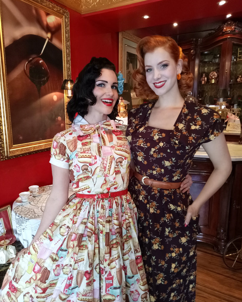 High Tea With A Famous Pinup!