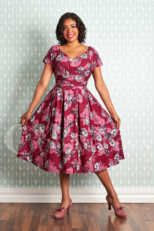 Miss Candy Floss Felicienne-Ruby Dress