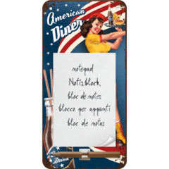 Retro Notepad - American Diner
