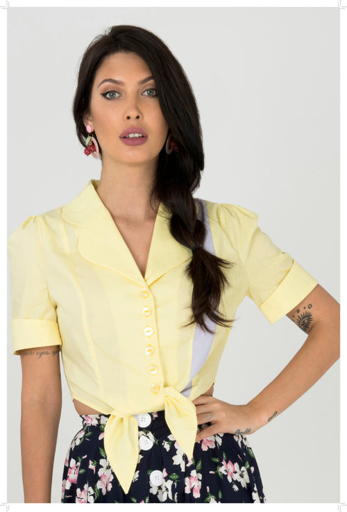 NEW!! Lou Diner Shirt - Yellow
