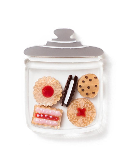 Martinis and Slippers Biscuit Jar Brooch!
