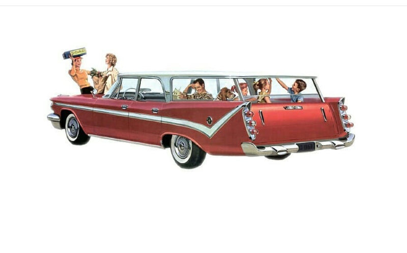 50's Family Pin - The Family Cruiser