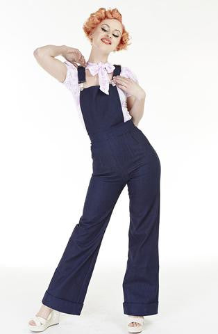 PREORDER! Bonsai Kitten 1940's Denim Dungarees