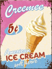 American Ice Cream Fridge magnet