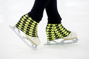 These are 'Over The Tops'- the world's first designer figure skating sock!