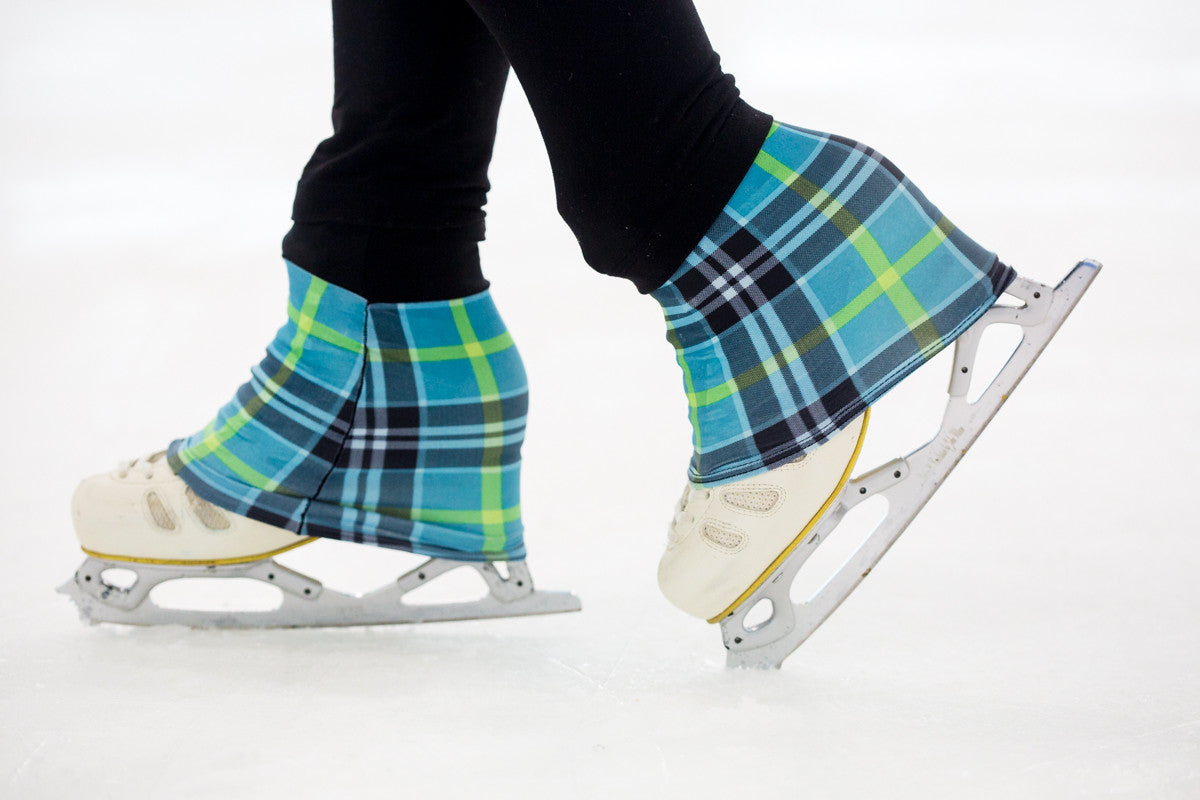 Over The Tops figure skating socks are the world's first designer ice skating sock that keeps your feet warm and dry and add style to your boot!