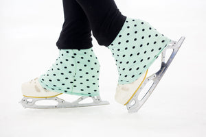 Over The Tops figure skating socks are the world's first designer ice skating sock that keep your feet warm and dry and add style to your boot!