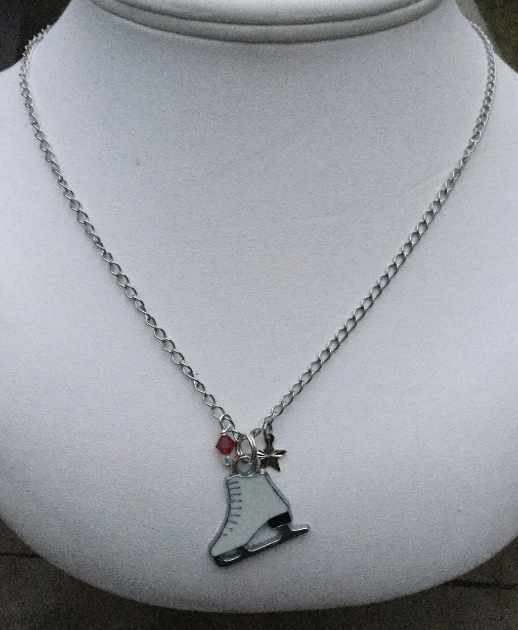 Handmade Skating Necklace