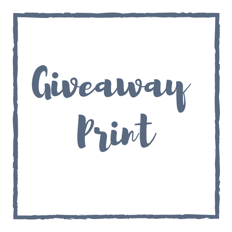 Giveaway/Contest Print