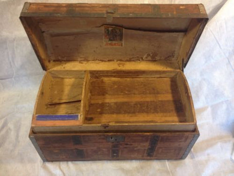 Greyhound Shipping Quote >> Chest Antique Dome Top Circa1800s See12pix4size Ships Greyhound 79 Make Offer