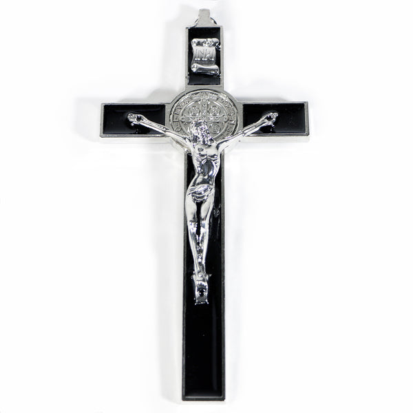 Large St. Benedict Metal Cross