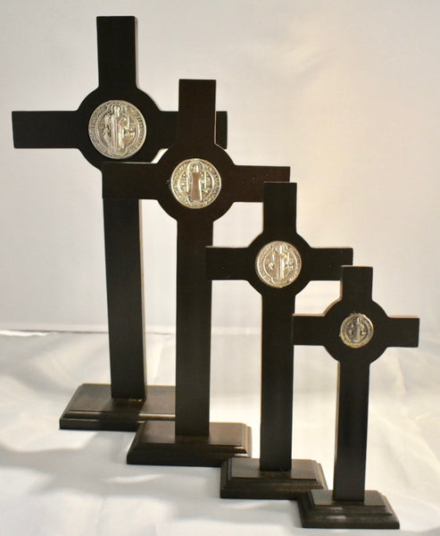 St. Benedict Cross with Stand