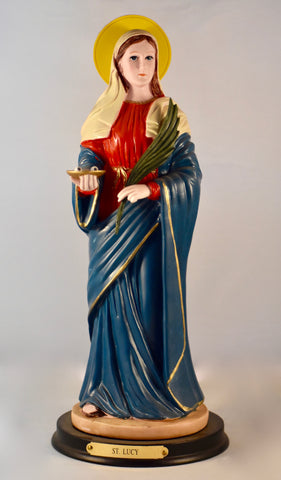 St. Lucy Statue