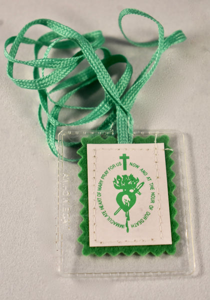The Green Scapular - Medium