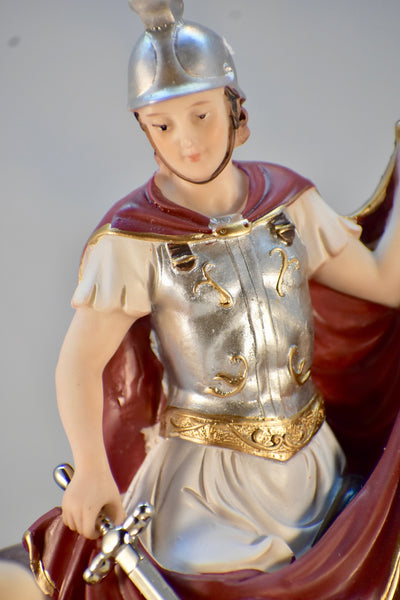 St. Martin of Tours Statue - Red