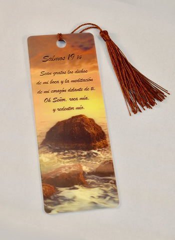 3D Bookmark - Psalm 19 / Salmo 19