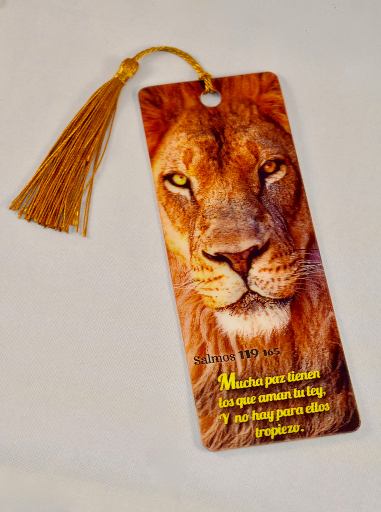 3D Bookmark - Psalm 119 / Salmo 119