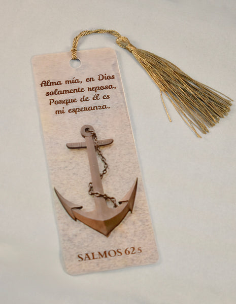 3D Bookmark - Psalm 62 / Salmo 62