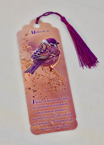 3D Bookmark - Matthew 6 / Mateo 6