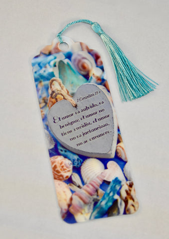 3D Bookmark - 1 Corinthians 13 / 1 Corintios 13