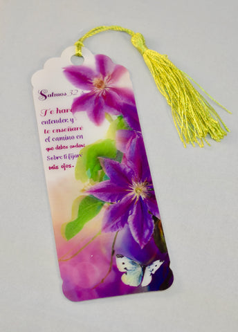 3D Bookmark - Psalm 32 / Salmo 32