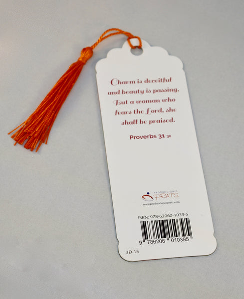 3D Bookmark - Proverbs 31 / Proverbios 31