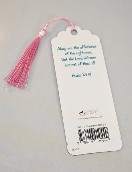 3D Bookmark - Psalm 34 / Salmon 34