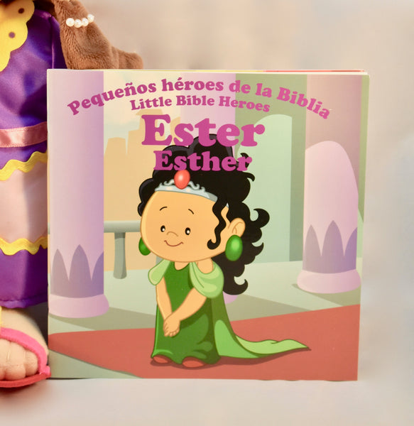 Esther / Ester - Plush Toy with Bilingual Book